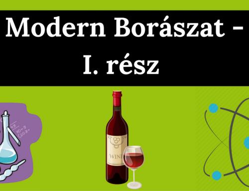 Modern Borászat – I. rész : Szerves savak a mustban és a borban
