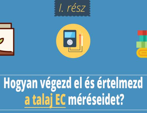 Talaj EC I. rész: Alapok, mértékegységek, talaj EC mérése, műszerek összehasonlítása