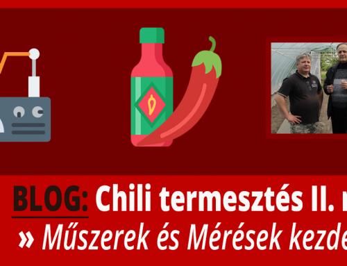 Chili Termesztése II. rész – Milyen eszközöket fog használni László?