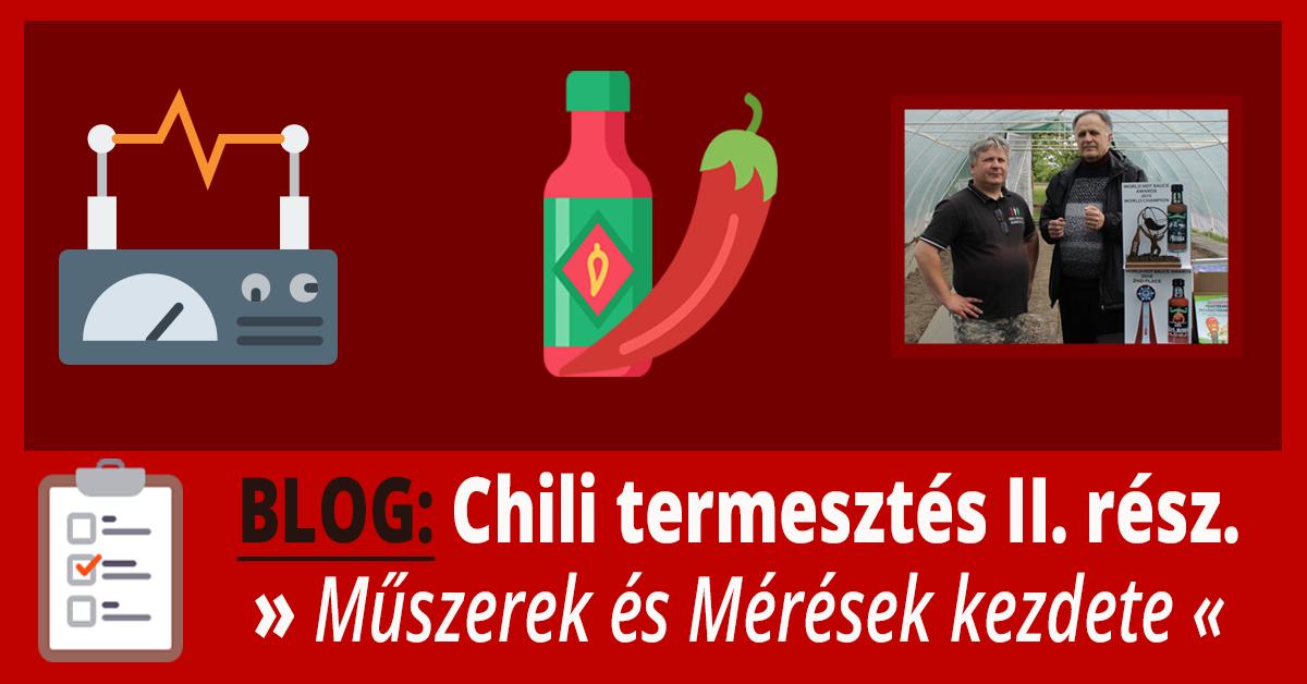 chili termesztése