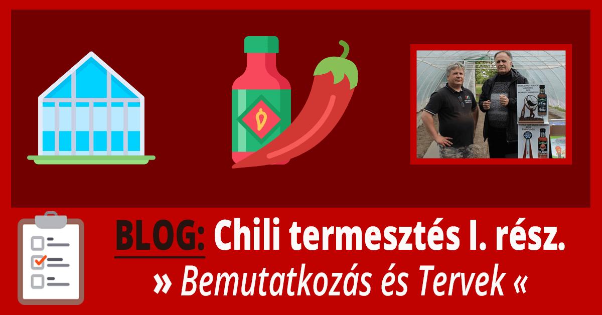 chili termesztés