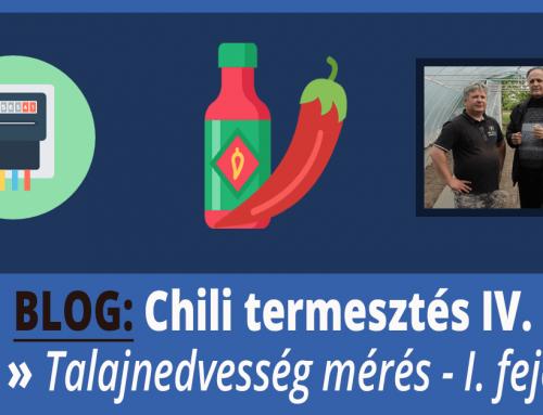 Talajnedvesség mérése és megszervezése – Chili Termesztés IV. rész