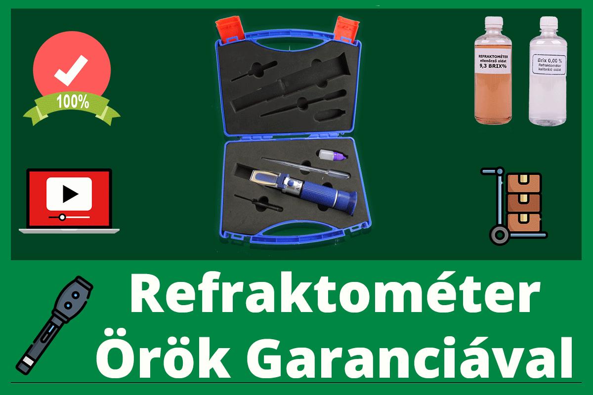 Refraktométer-csomag